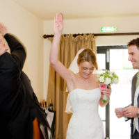 High Five the Wedding magician